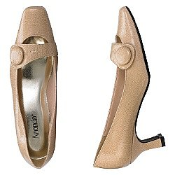 Cameron Pump with Button Detail