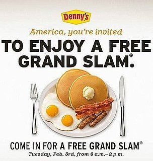 Yummy Links: From Free Denny's to Disliking Top Chef