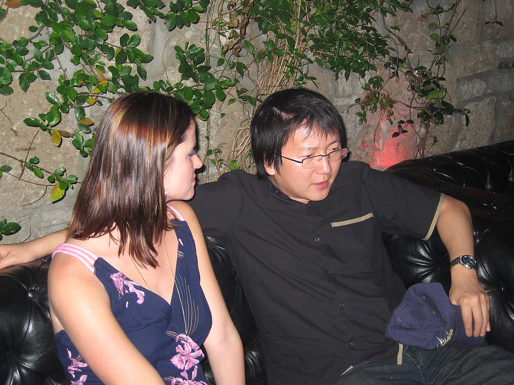 We lounged all night at Paris and Nicky Hilton's table. Sylvain introduced Fab and I to the night's only celebrity Masi Oka from NBC's Heroes. We ended up hanging out all night. Topics of conversation: LA vs SF restaurant scenes, writing, and the fashions of nearby partyers.