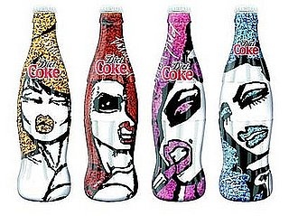 Patricia Field Limited-Edition Diet Coke City Collection Bottles