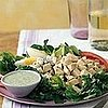 Fast & Easy Dinner: Cobb Salad with Green Goddess Dressing