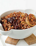Maple-Glazed Baked Beans