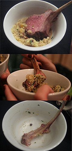 Would You Eat This Lamb and Couscous Without Utensils?