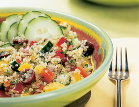 Fast & Easy Dinner: Mediterranean Grain Salad