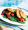 Fast &amp; Easy Dinner: Arugula and Fried Mozzarella Salad