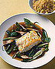 Fast & Easy Dinner: Halibut in Green Tea Broth