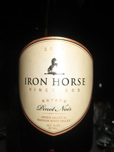 Happy Hour: 2006 Iron Horse Estate Pinot Noir