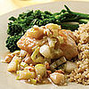 Fast &amp; Easy Dinner: Chicken With Pear and Leek Sauce