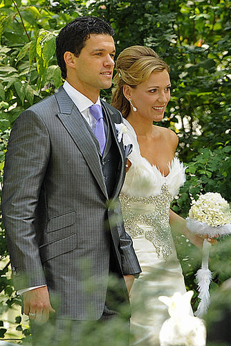 May I present ... Mr. and Mrs. Ballack