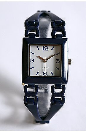 UrbanOutfitters.com > Link in Time Metal Watch ($35)
