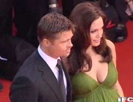 Brad &amp; Angelina on the Red Carpet for Kung Fu Panda