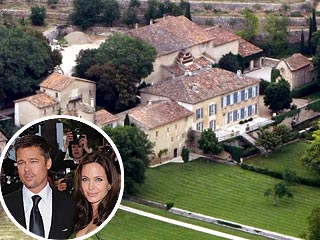 Brad &amp; Angie are RENTING a Gorgeous Chateau in the South of France. 