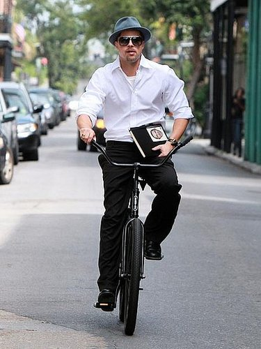 Brad Pitt 'Baracks the Vote'