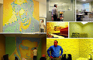 Decorating Your Office With Post-Its