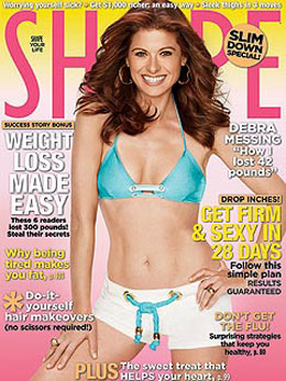 Debra Messing Took the Pressure Off and Lost Weight