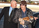 Mickey Rourke and Loki Leave LAX After His First Award at the Golden Globes 2009-01-16 09:52:05