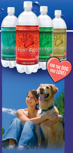 Fortifido Purified Water For Dogs