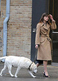 "In the Spotlight: Keira Knightley Films ""Last Night"" in NYC"