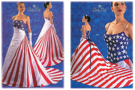 Would You Be a Patriotic Bride?