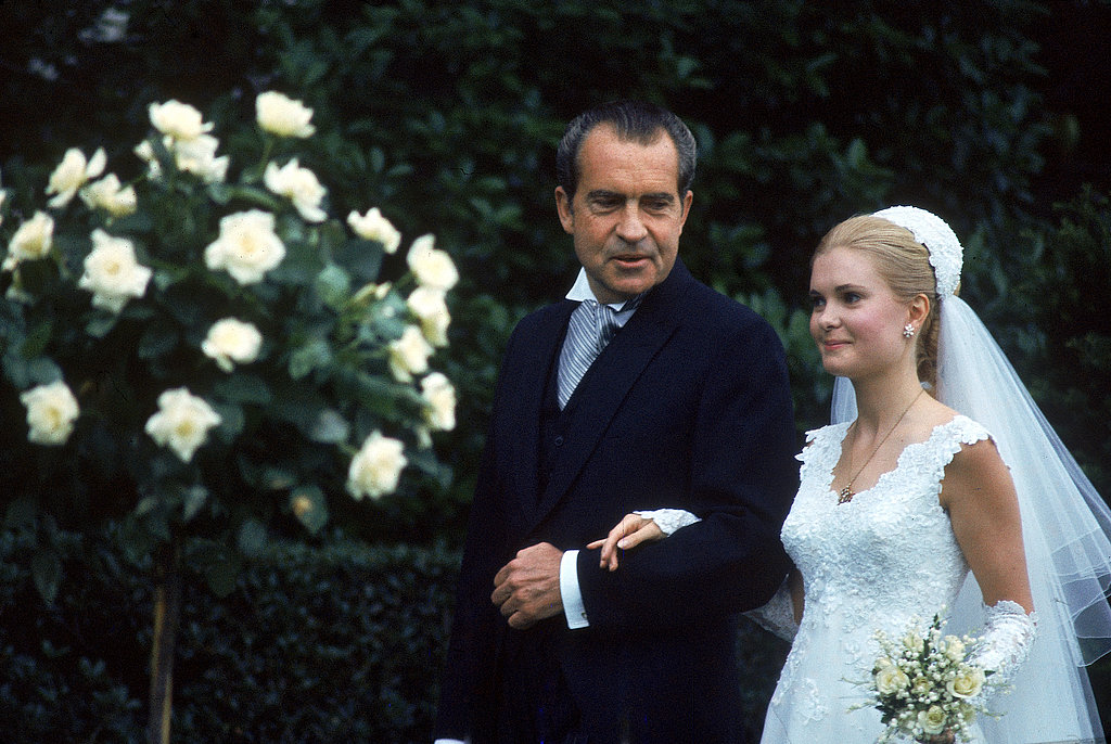 Tricia Nixon Walks Down the Aisle
