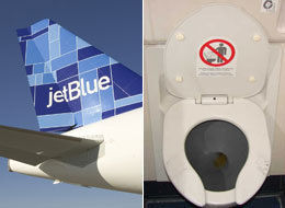 Man Sues Jet Blue After Having To Spend Hours In Toilet