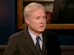 Arianna Huffington and Her Mysterious Private Eye Enrage Chris Matthews