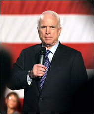 McCain Sets Goal of 45 New Nuclear Reactors by 2030