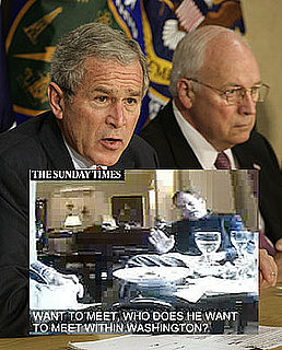 Undercover Tape Shows Meetings With Cheney, Bush For Sale