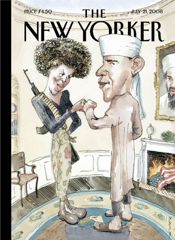 Obama Calls New Yorker Cover Offensive
