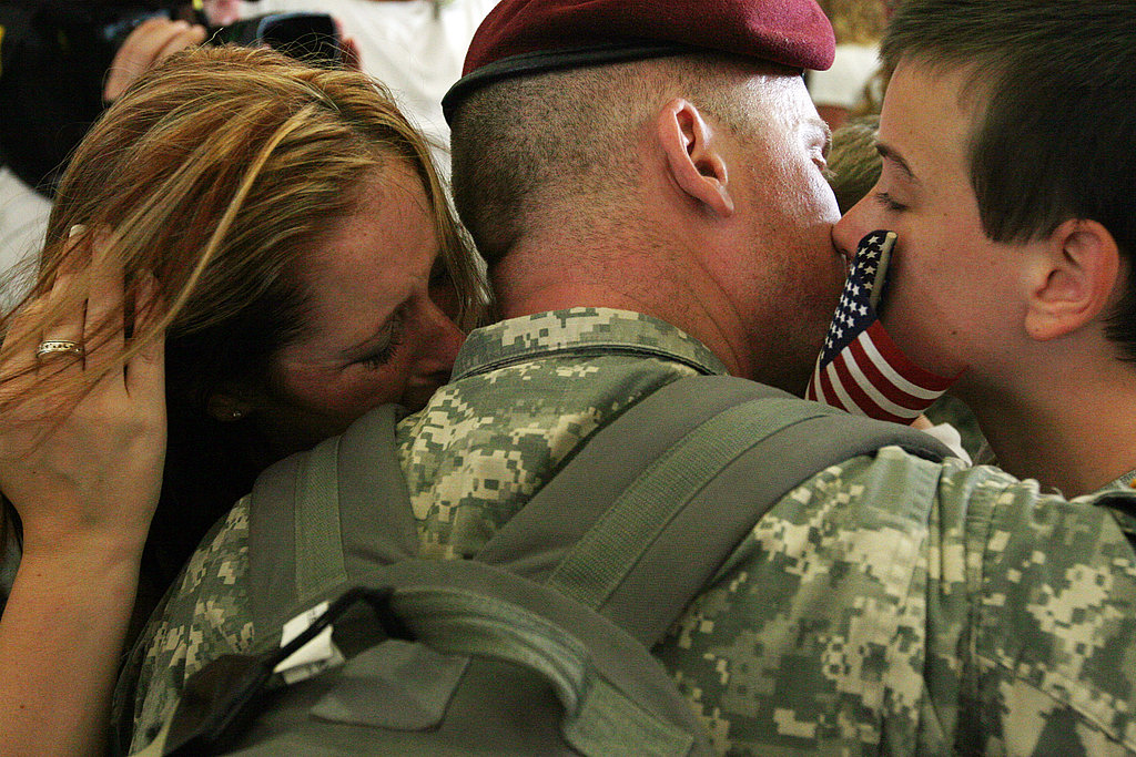 Troops Come Home: Sept. 15