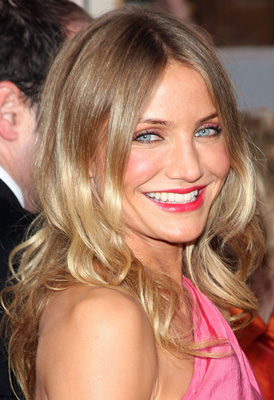 Cameron Diaz at the 2009 Golden Globe Awards