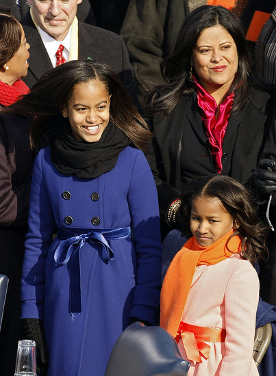 Obama Girls Wear JCrew