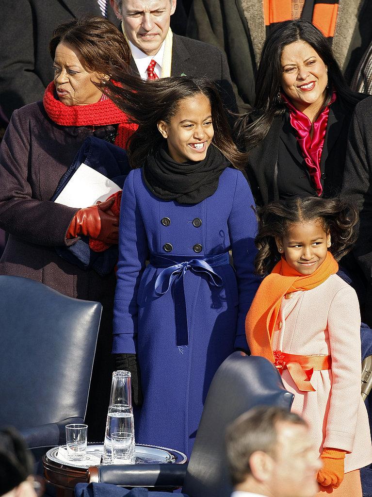 Obama Girls Wear JCrew
