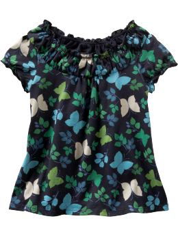 Ruffle Butterfly Top