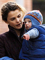 Lil Links: Keri Russell Puts River's Safety First
