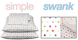 Simple or Swank: Polka Dot Sheets
