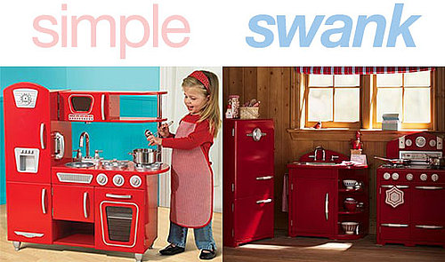 Simple or Swank: Red Retro Kitchen