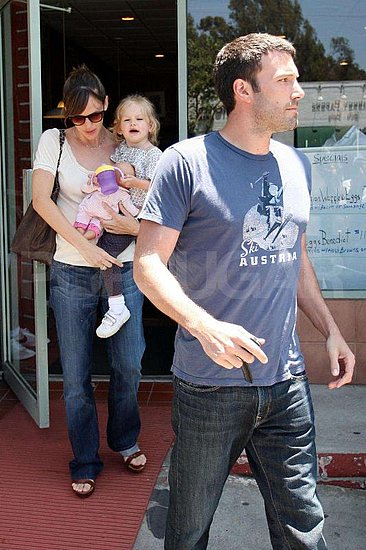 The Garner-Affleck Family Enjoys Some Quality Time