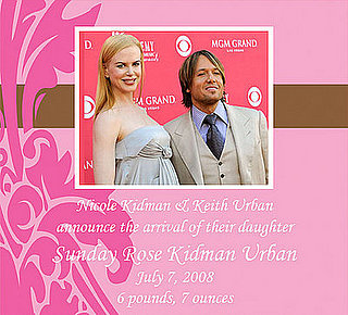 Nicole Kidman Has a Baby Girl!