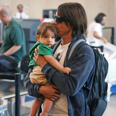 Anthony and Everly Kiedis Ready to Jet