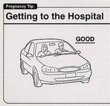 Drive Calmly to the Hospital
