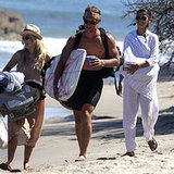 Another Day at the Beach for the McConaughey-Alves Crew