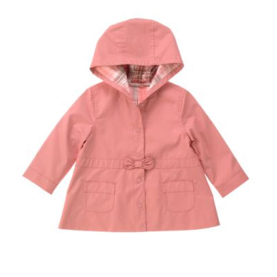 Hooded Raincoat $52