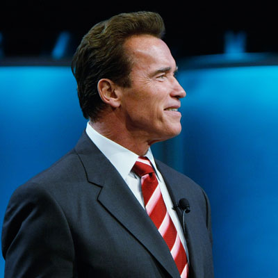 Not Shocking, Arnold Is on the McCain Train!