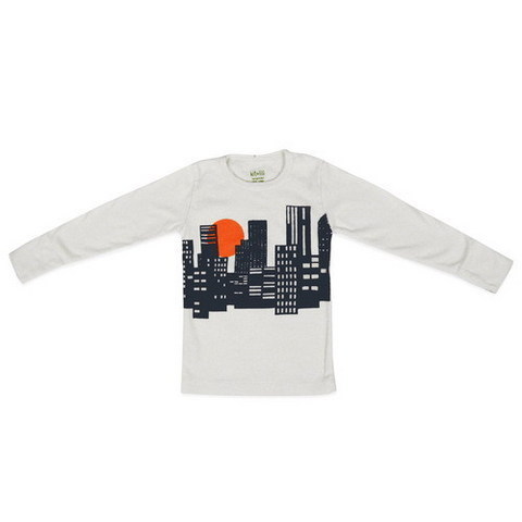 City Tee in Navy ($43)