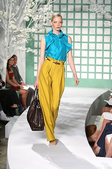 Oscar De La Renta Cruise Resort 2009 Collection Images