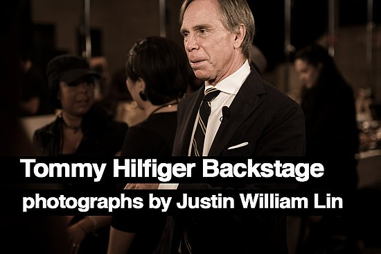 Backstage At Tommy Hilfiger, Photographs by Justin William Lin
