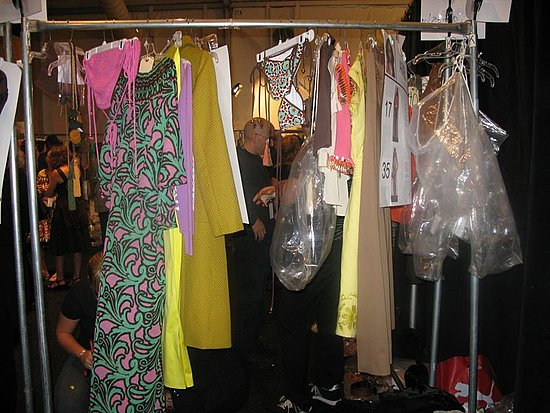 Backstage at Milly by Michelle Smith