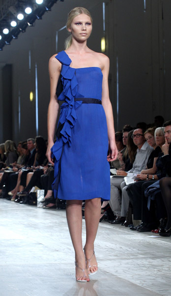 London Fashion Week: Aquascutum Spring 2009
