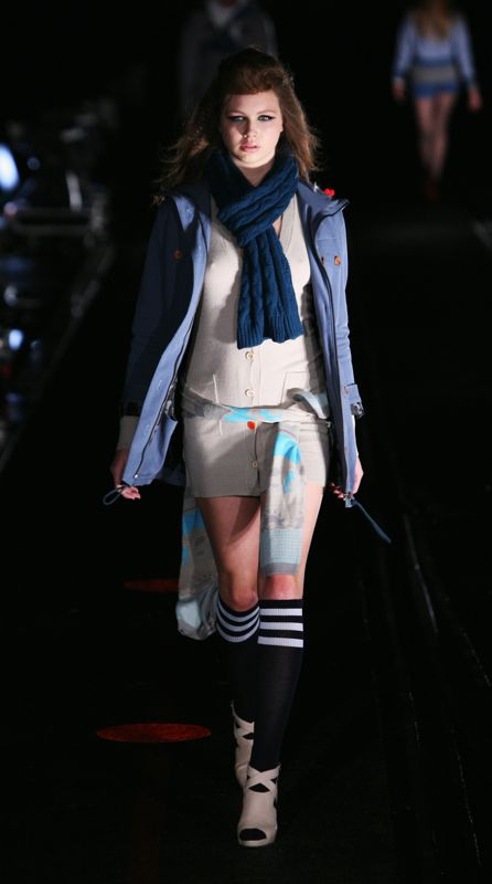 Air New Zealand Fashion Week 2008: Huffer